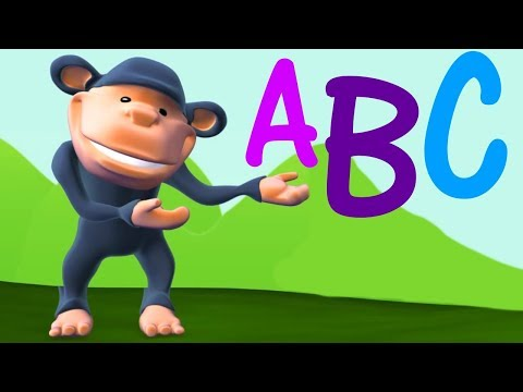 Alphabet Song in English | Learn Letters for Children | ABC Songs & Nursery Rhymes