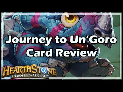 [Hearthstone] Journey to Un'Goro Card Review