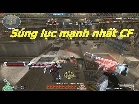 [ Bình Luận CF ] Desert Eagle-Megatron - Súng Lục VIP Bá đạo - Tiền Zombie V4