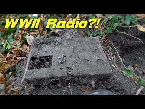 Metal Detecting WW2 / WW1 - Awesome relics - Battle of Aachen - WWII Radio?!