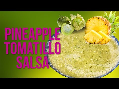 Pineapple And Tomatillo Salsa!!!