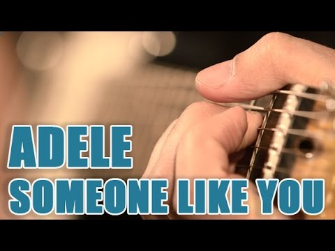 Partitions Guitare Someone Like you - adele