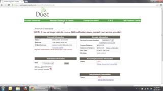 Duet online billing system training ...