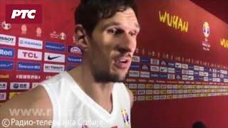 Izjava Bobana Marjanovića posle utakmice sa Portorikom