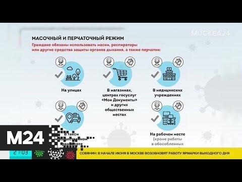 """""""Прогулочный режим"""" вводится в Москве с 1 июня - Москва 24"""