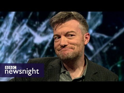Charlie Brooker on Black Mirror, satire and politicians - BBC Newsnight