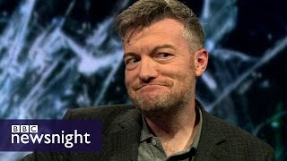 connectYoutube - Charlie Brooker on Black Mirror, satire and politicians - BBC Newsnight