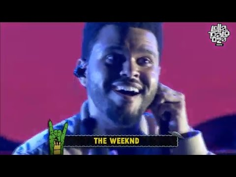 The Weeknd en Argentina (Lollapalooza 2017)