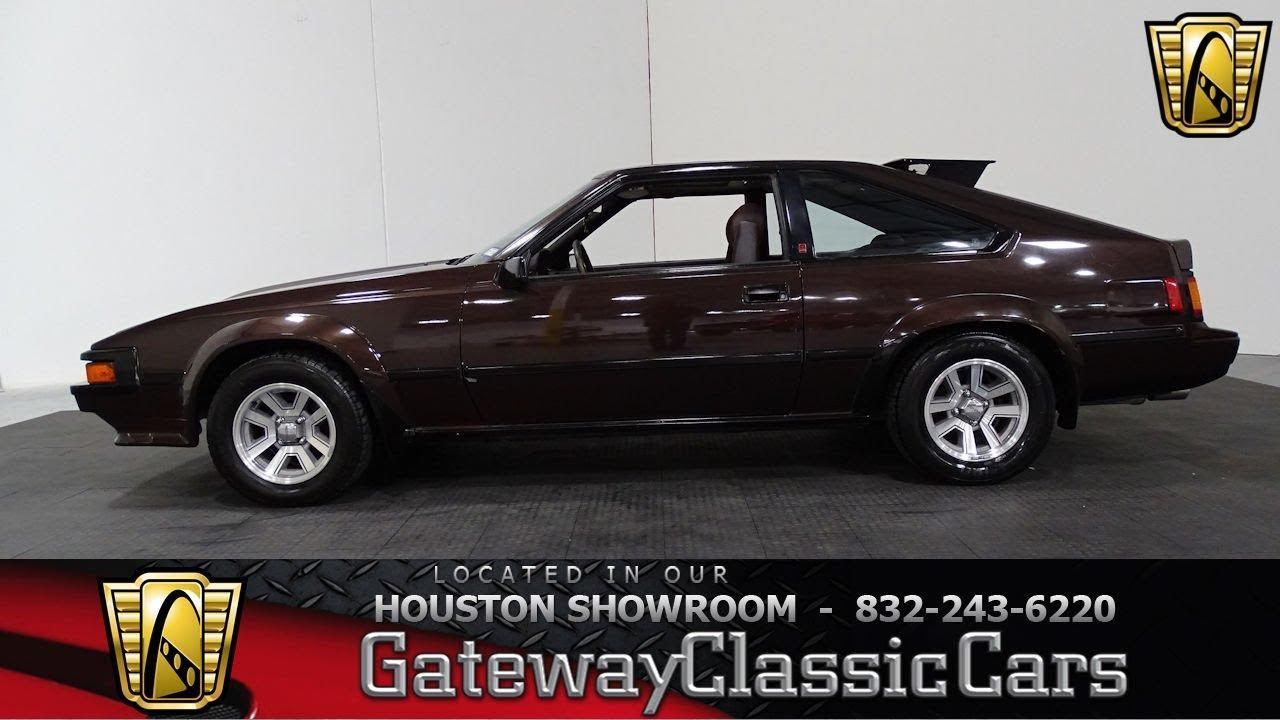 1984 Toyota Supra Gateway Classic Cars #980 Houston Showroom - YouTube