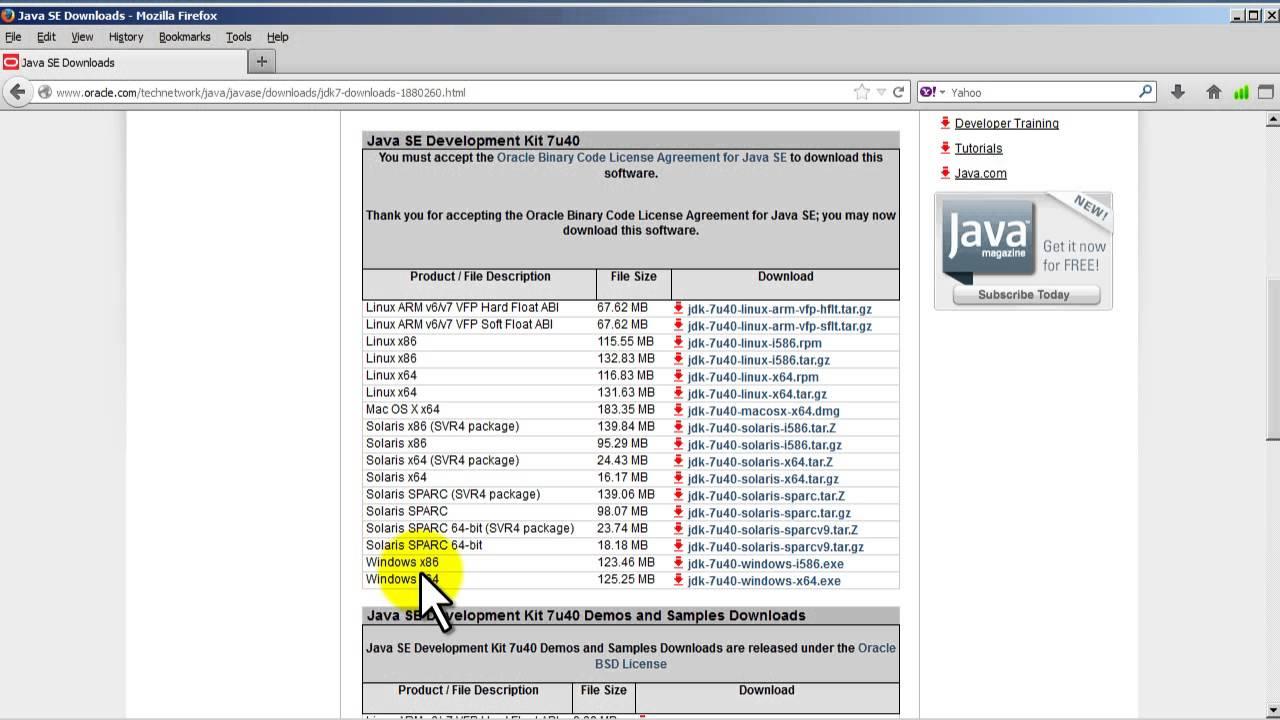 Java 7 tutorial downloading java development kit jdk 107 java 7 tutorial downloading java development kit jdk 107 baditri Gallery