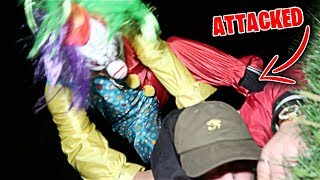 Video CLOWN HUNTING GONE WRONG!! (ATTACKED BY KILLER CLOWN) *DO NOT GO OUT LOOKING FOR CLOWNS* download MP3, 3GP, MP4, WEBM, AVI, FLV Oktober 2018