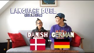 Danish vs. German (Beginners) - Language Duel