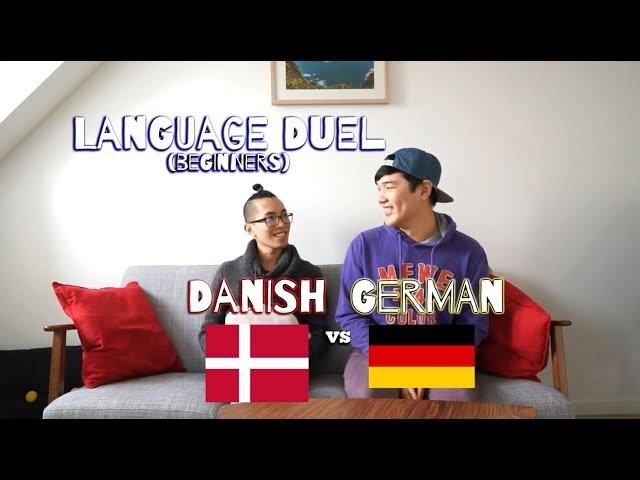 Danish vs. German (Beginners) - Language Duel