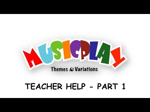 Musicplay Online Help - Part 1 - Song List, Movies, Teacher Tools, Interactive Activities