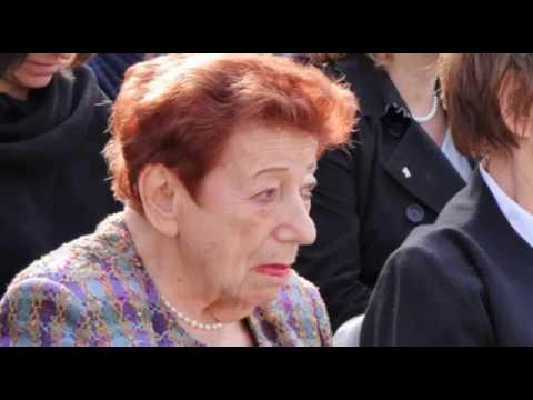 Gedenken am Gleis 17, die letzte Zeitzeugin, Margot Friedländer