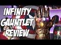 $100 Infinity Gauntlet Review | Avengers Infinity War | Hasbro Toys Marvel Legends Unboxing