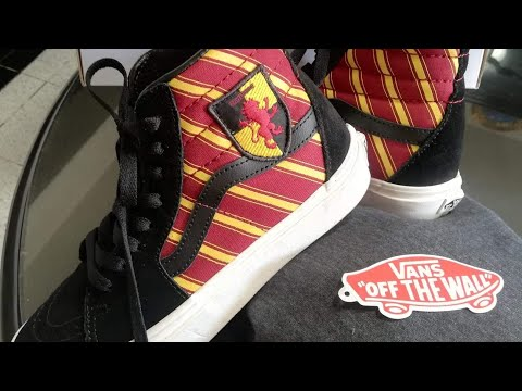 UNBOXING – Harry Potter vans // Gryffindor