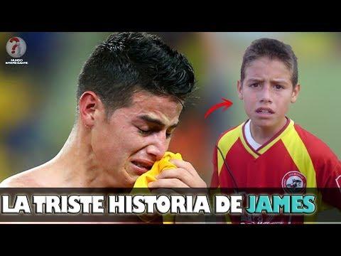 LA HISTORIA JAMÁS CONTADA DE 'JAMES RODRÍGUEZ', EL NIÑO TARTAMUDO QUE CONQUISTO AL MUNDO