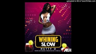 Nutty O - Whining Slow [ Wanna Be Riddim ]