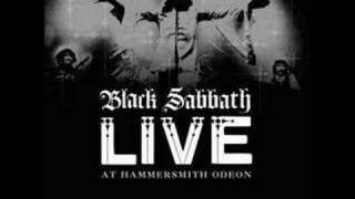 Black Sabbath - N.I.B Live At Hammersmith Odeon