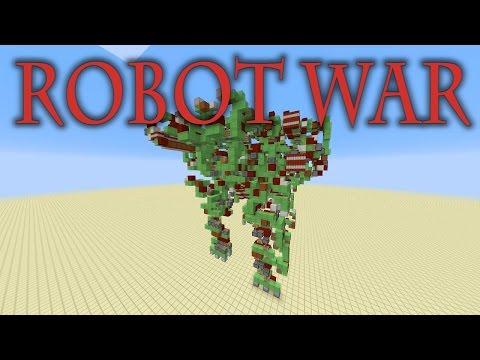 Minecraft Slime Block Battle Robot - Mega Gargantua PvP