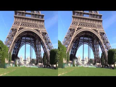 Eiffel Tower - Paris, France in Full 3D HD