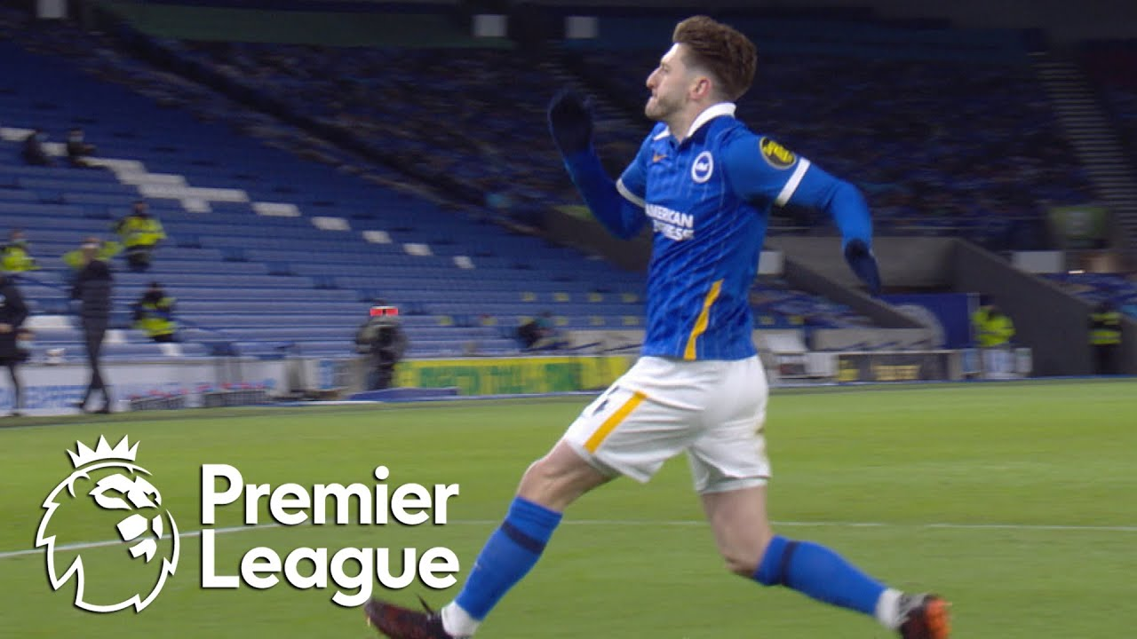 Adam Lallana gives Brighton fast start against Leicester City | Premier League | NBC Sports