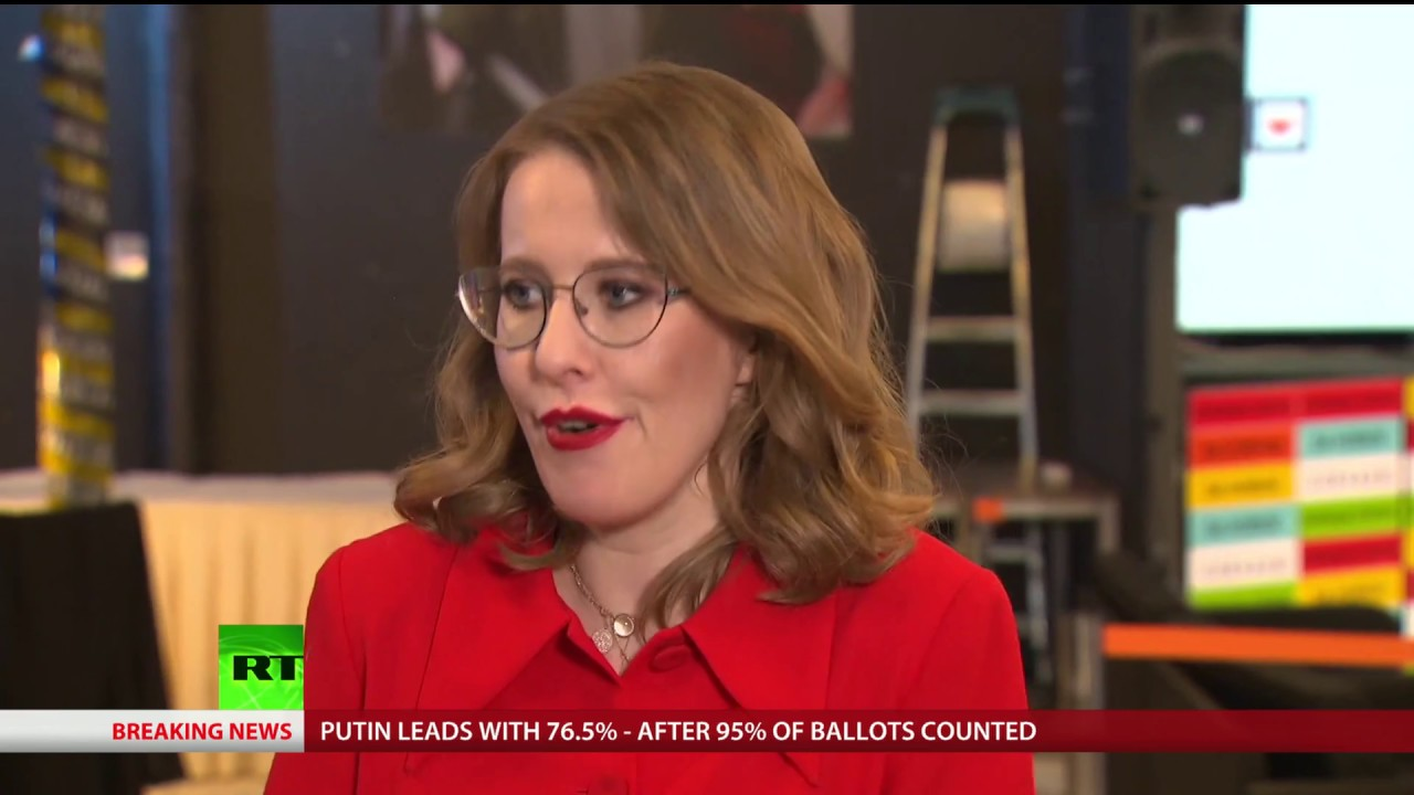 'My campaign not about result but to tackle issues' - Opposition candidate Sobchak