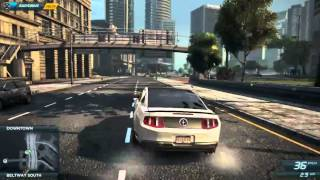 Need for Speed Most Wanted 2012 [PC] Free roaming on Nvidia Gt540m medium settings