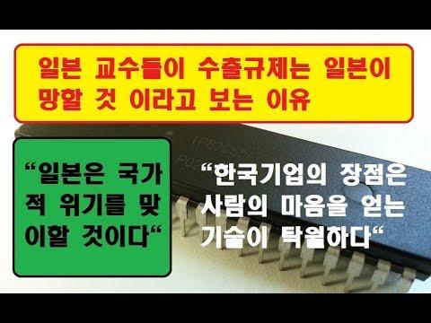 """[일본반응] 일본교수들이 수출규제는 일본이 망할 것 이라고 보는 이유 """"일본은 국가적 위기를 맞이할 것이다"""""""