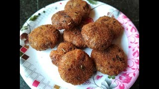 Soya Chunks Cutlet Recipe In Hindi | Healthy Soya Snacks Recipe