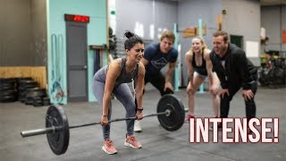 I Tried CROSSFIT for the First Time and THIS HAPPENED