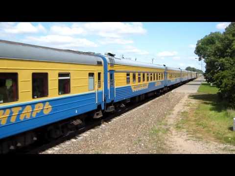 "[LG] ТЭП60-0927 с поездом №30 ""Янтарь"" Калининград - Москва (Vilkaviškis)"