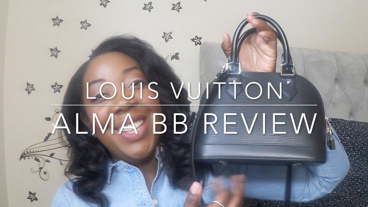 4cb7846cb48a Louis Vuitton Alma BB Review - YouTube