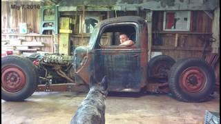 1946 ford 1 ton truck Rat Rod Build Video
