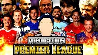 PREMIER LEAGUE 2016/17 TABELLTIPS!!