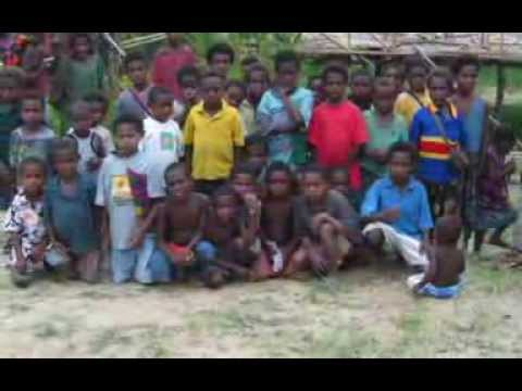 We Drop Into Wewak, Papua New Guinea, Naaman's Sing-sing