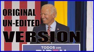 * EXCLUSIVE * - UNEDITED Joe Biden Despacito Speech.