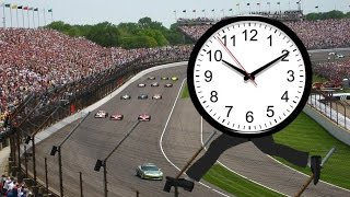 SCHEDULE of the 101ST INDIANAPOLIS 500 (last week)
