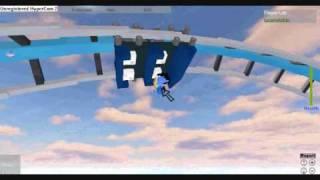 roblox Achterbahn Testen blau blitz