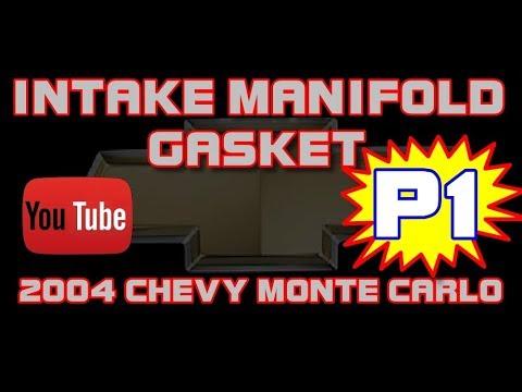 ⭐ 2004 Chevy Monte Carlo - 3.4 - Lower Intake Manifold Gasket - PART 1