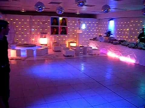 decor de fete decoration anniversaire mariage disco lounge decor de fete d coration youtube. Black Bedroom Furniture Sets. Home Design Ideas