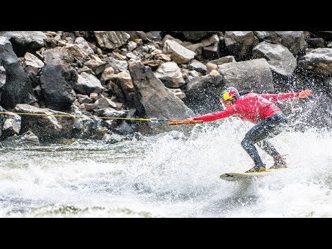 Download Youtube: Kai Lenny and the rapids of the Yellowstone River.