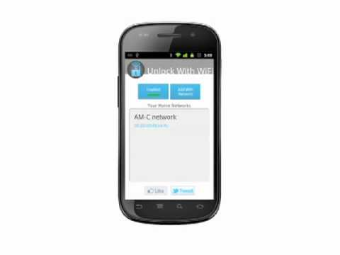 Unlock with WiFi FREE for Android