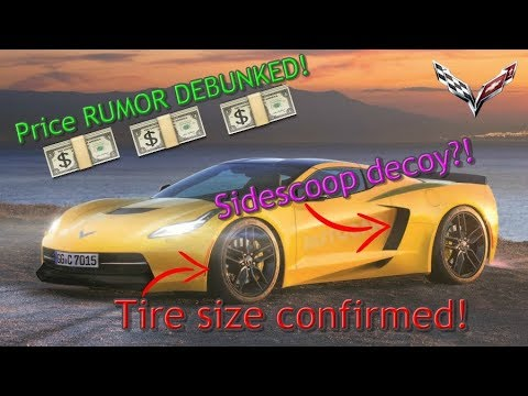 C8 Mid-Engine CORVETTE PRICE rumors, TIRE SIZE, interior layout, and MORE!!