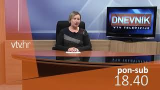 VTV Dnevnik najava 10. prosinca 2018.