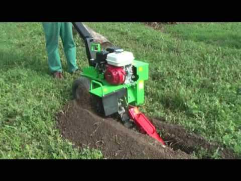 E Z Trench Groundsaw Mini Trencher Doovi