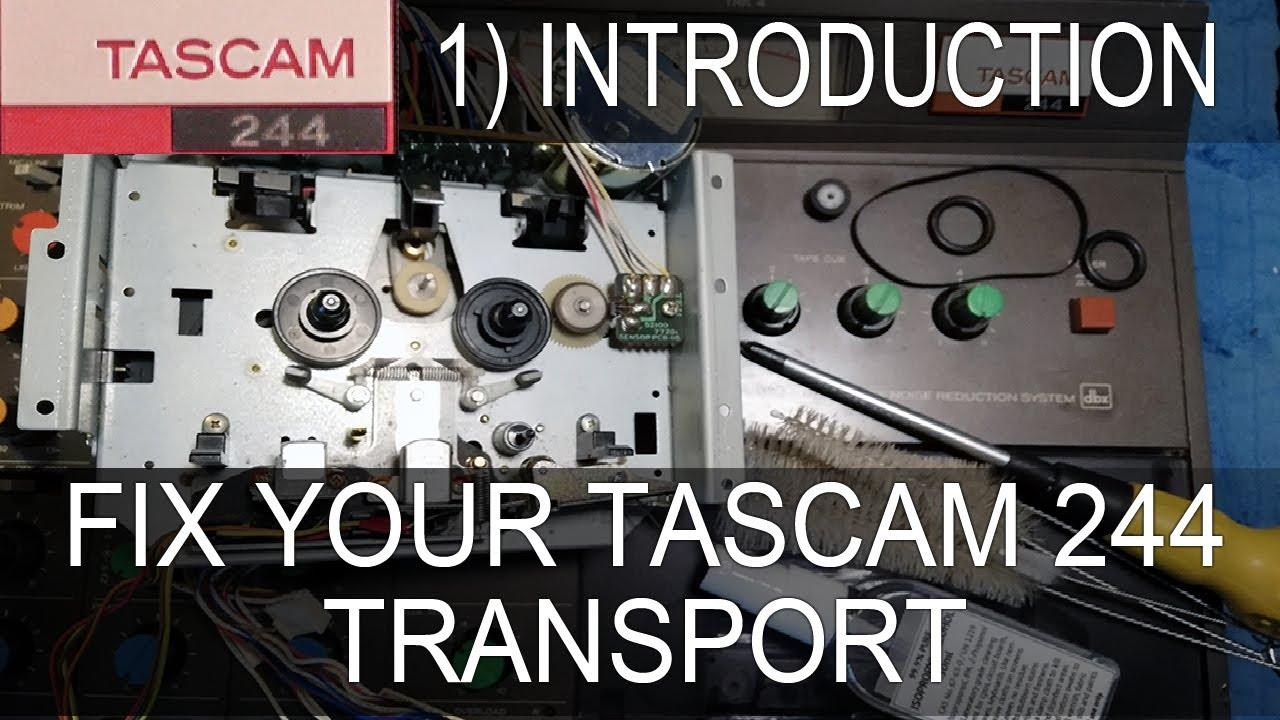 Tascam 244 Channel Strip