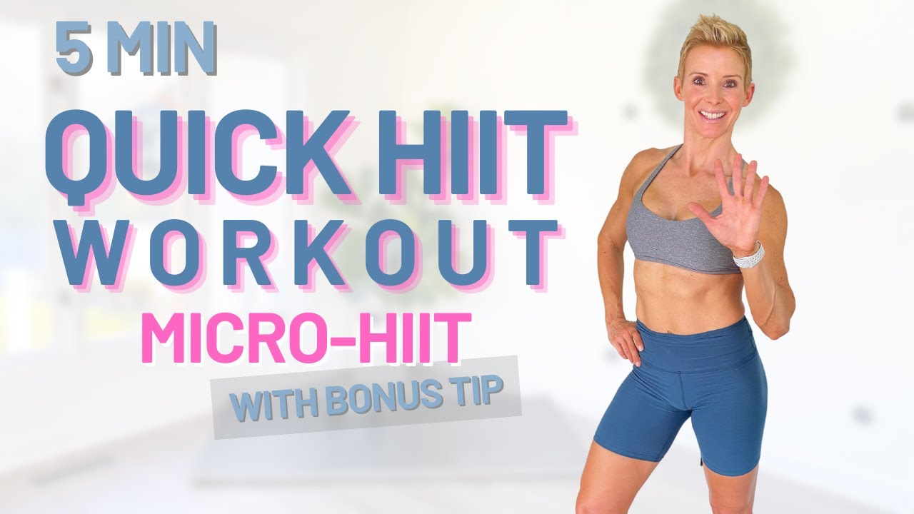QUICK HIIT Workout | Only 5 Mins