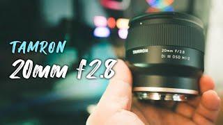 초점거리 & 휴대성 깡패 렌즈, 탐론 20mm …